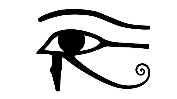 El ojo de Horus significa protección