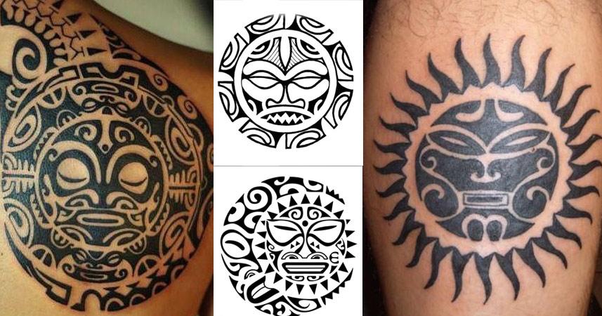 Significado Del Sol Polinesio O Maorí