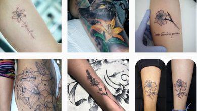significado de los tatuajes de lirios