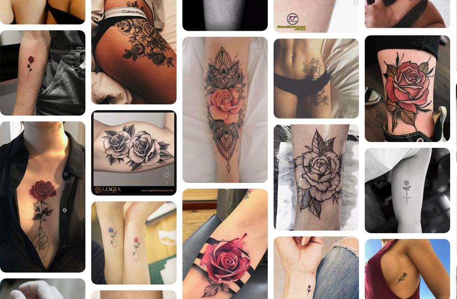 significado de los tatuajes de flores