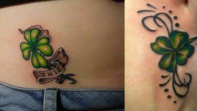 significado del tatuaje del trebol de cuatro hojas